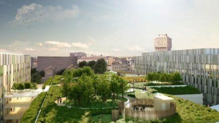 """Posata la prima pietra del Nuovo Policlinico: un ospedale """"verde"""" nel cuore di Milano"""