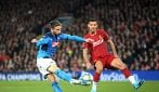 Champions League, Liverpool-Napoli