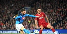 Champions League, Liverpool-Napoli