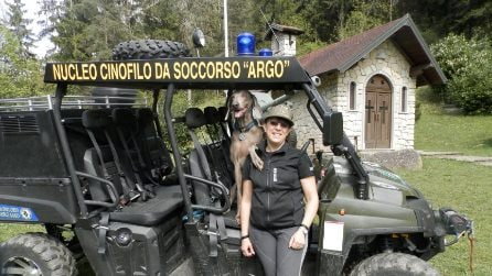 Addio alla campionessa dei cani da soccorso Greta: da Fiorano al Serio ad Amatrice