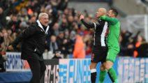 Premier, le foto di Newcastle-Manchester City 2-2