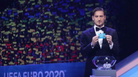 Sorteggio Euro 2020, le immagini della cerimonia