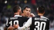 Serie A 19-20, le immagini di Juventus-Sassuolo