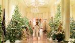 Casa Bianca addobbata per Natale: il tocco di Melania Trump