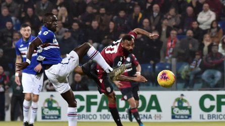 Serie A, le immagini di Cagliari-Sampdoria