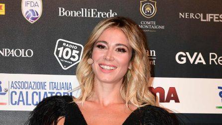 Diletta Leotta sul palco del Gran Galà dell'Aic