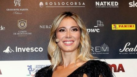 Diletta Leotta al Gala del Calcio 2019