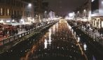 Natale a Milano, l'atmosfera magica sui Navigli