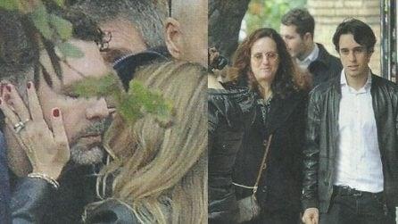 Le foto del funerale di Rosa, la mamma di Raoul Bova