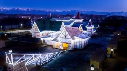 Inaugurato a Milano il villaggio di Babbo Natale più grande d'Italia