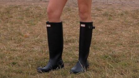 Gli stivali da pioggia trendy per l'inverno 2020