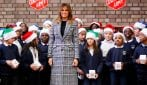I cappotti Principe di Galles per imitare lo stile di Melania Trump