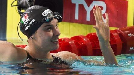 Europei di nuoto 2019, Margherita Panzieri vince l'oro. Le immagini del trionfo