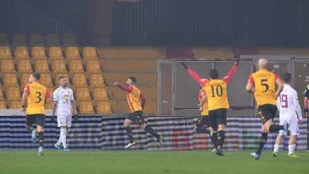 Serie B 2019/2020, le immagini di Benevento-Trapani