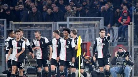 Serie A, le immagini di Lazio-Juventus