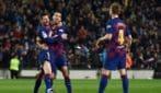 Barcellona-Maiorca 5-2, lo show di Messi e Suarez