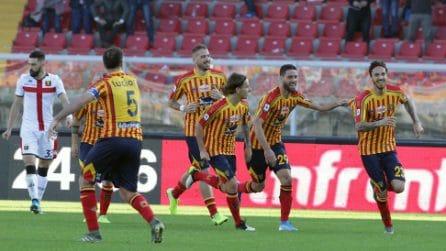 Serie A 2019/2020, le immagini di Lecce-Genoa