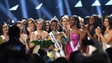 La 68esima edizione di Miss Universo, sul palco degli Terry Perry Studios, ad Atlanta