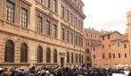 I funerali di Piero Terracina: presenti Raggi, Veltroni e Rutelli
