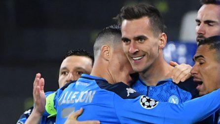Champions League, le immagini di Napoli-Genk