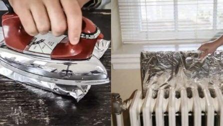 Usi alternativi della carta alluminio: 11 consigli molto utili