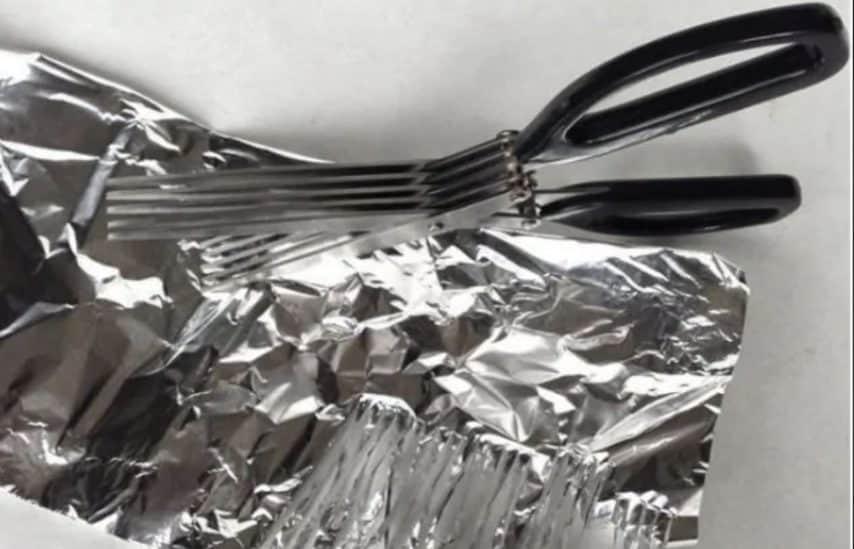 Rendere più taglienti le forbici.