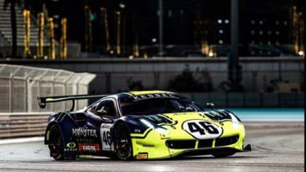 Valentino Rossi, le foto della 12 Ore di Abu Dhabi
