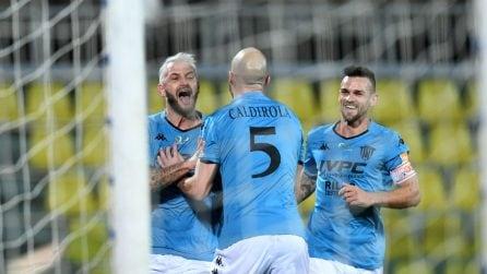 Serie B, le immagini di Livorno-Benevento 0-2