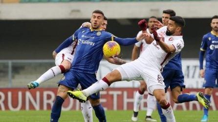Serie A, le immagini di Hellas Verona-Torino