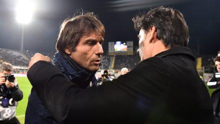 Fiorentina-Inter, le immagini della partita