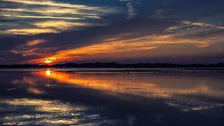 L'incantevole Lago Fusaro di Bacoli: il panorama è suggestivo