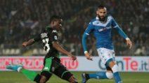 Serie A, le immagini di Brescia-Sassuolo