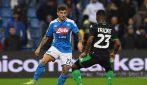 Serie A, le immagini più belle di Sassuolo-Napoli