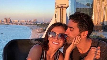 Filippo Magnini e Giorgia Palmas, le foto della vacanza a Dubai