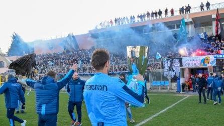 La festa di Formello: in 10 mila per la Supercoppa vinta dalla Lazio