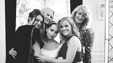 Le foto mai viste delle nozze di Zoe Kravitz e Karl Glusman, presenti Nicole Kidman e Jason Momoa