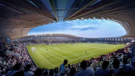 Lo stadio di Zaha Hadid costruito tutto in legno