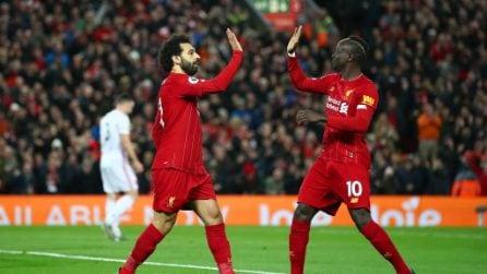 Premier, le immagini di Liverpool-Sheffield 2-0