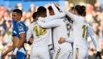 Liga, le immagini di Getafe-Real Madrid