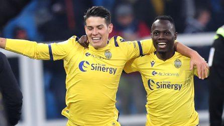 Serie A 2019/2020, le immagini di Spal-Verona
