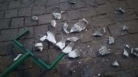 Roma, distrutta la targa per Piergiorgio Welby a piazza Don Bosco