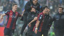 Serie A 2019/2020, le immagini di Bologna-Fiorentina