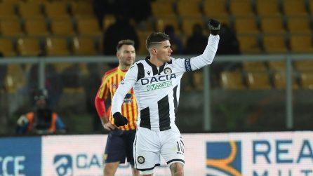 Serie A, le immagini più belle di Lecce-Udinese