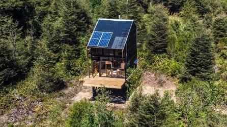 Come vivere tra gli alberi 100% a impatto zero