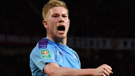 EFL Cup, le immagini di Manchester United-Manchester City