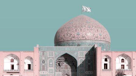 Le bandiere bianche di Mohammad Hassan Forouzanfar sui siti Unesco dell'Iran