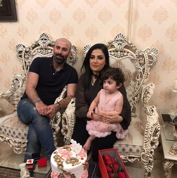 Evin Arsalani, 30; Hiva Molani, 38; Kurdia Molani, 1
