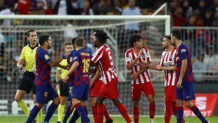 Supercoppa di Spagna, le immagini di Barcellona-Atletico Madrid