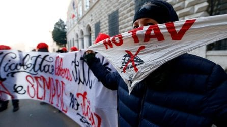 Roma, blitz No Tav al ministero della Giustizia per Nicoletta Dosio