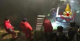 Incidente a Binasco, auto finisce nel Naviglio: paura per tre ragazze